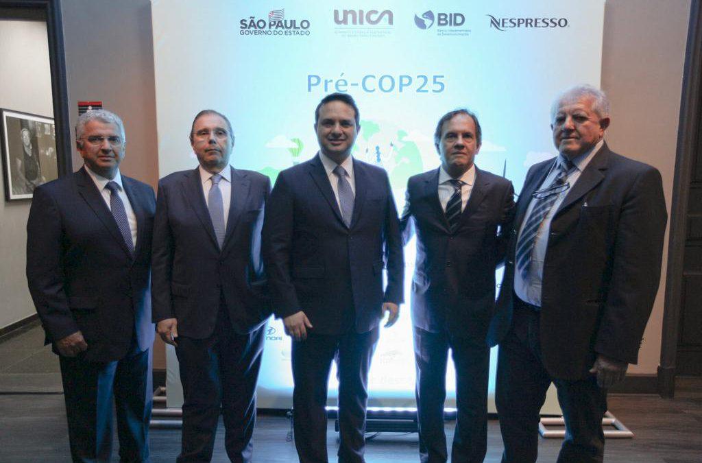 UNICA adere ao Acordo de São Paulo na Pré-COP25